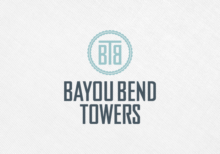 Bayou Bend Towers (logo comp)