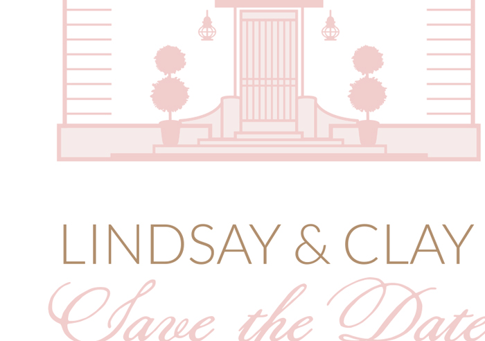 Lindsay & Clay Save the Date