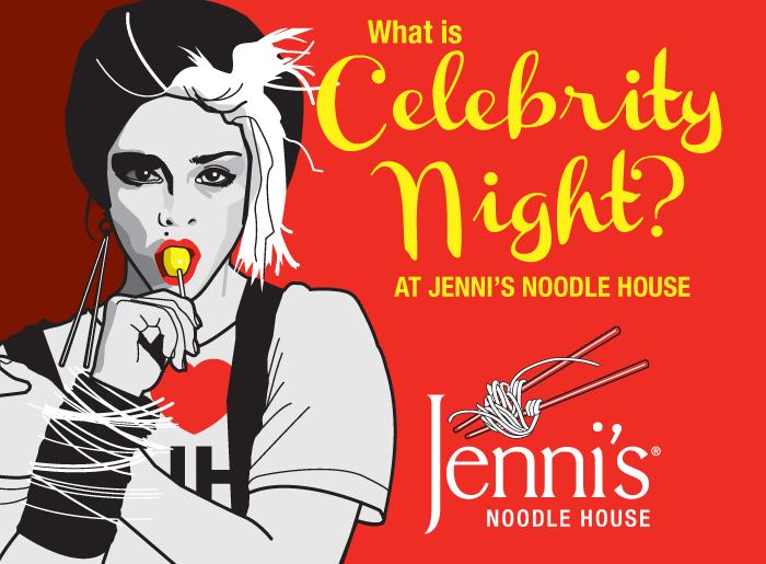 Celebrity Night for Jenni's Noodle House