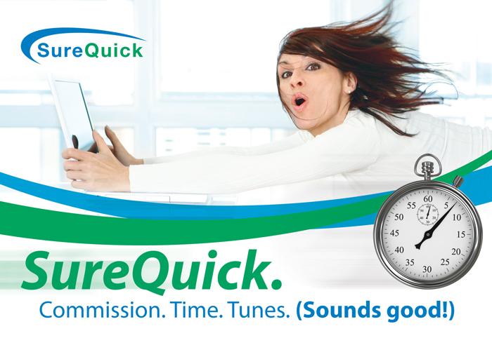 SureTec SureQuick Postcard