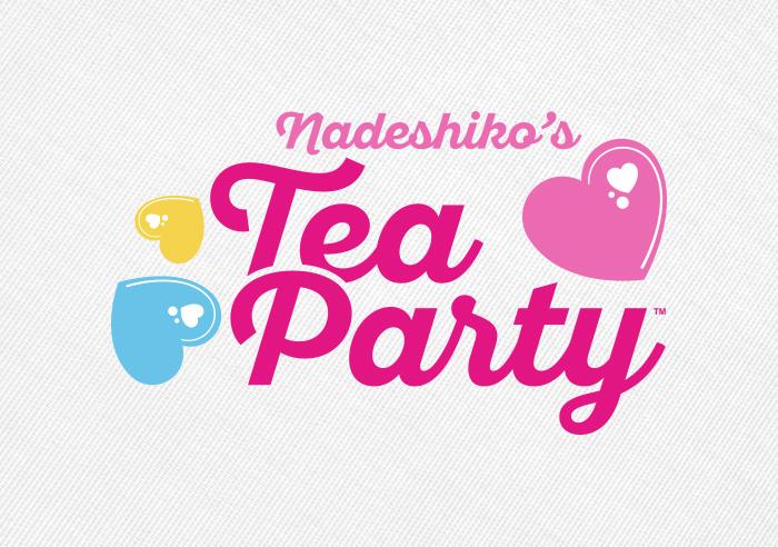 Nadeshiko's Tea Party Logo